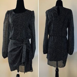 ZARA TRAFALUC COLLECTION Print Mini Dress